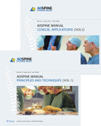AO Spine Manual, Books and DVD : Vol. 1: Principles and Techniques, Vol. 2: Clinical Applications