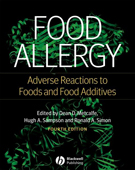 Food Allergy: Adverse Reactions to Foods & Food Additives,4/e