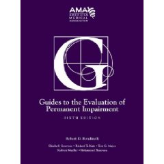 Guides to the Evaluation of Permanent Impairment 6e