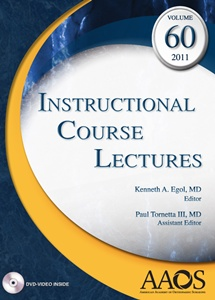 (ICL) Instructional Course Lectures 2011,Vol.60(with DVD)