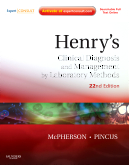 Henry's Clinical Diagnosis and Management by Laboratory Methods: Expert Consult - Online and Print