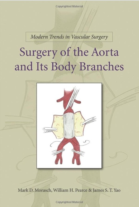 Surgery of the Aorta and Its Body Branches (Modern Trends in Vascular Surgery) [Hardcover]
