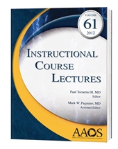 (ICL) Instructional Course Lectures 2012,vol.61