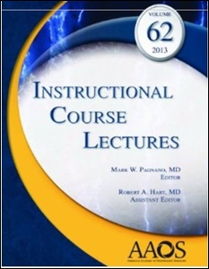 (ICL) Instructional Course Lectures 2013,Vol.62(with DVD)