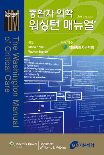 중환자 의학 워싱턴 매뉴얼 (The Washington Manual of Critical Care)
