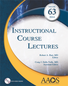 (ICL) Instructional Course Lectures 2014,Vol.63(with DVD)