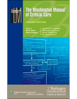 The Washington Manual of Critical Care, 2/e (Revised Edition) [Paperback]