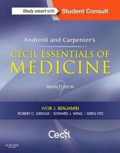 Andreoli and Carpenter's Cecil Essentials of Medicine,9/e