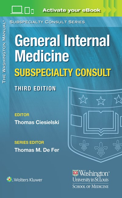 Washington Manual General Internal Medicine Consult-3판(2017.01)