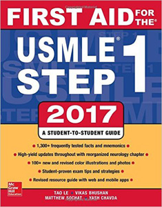 First Aid for the USMLE Step 1 2017,27/e(IE)