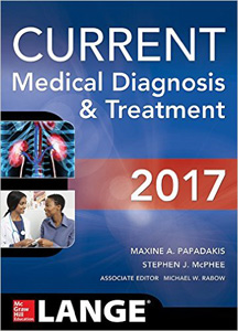 CURRENT Medical Diagnosis and Treatment 2017,56/e(CMDT)
