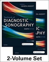 Textbook of Diagnostic Sonography: 2-Volume Set, 8판