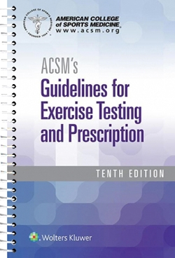 ACSM's Guidelines for Exercise Testing and Prescription-10판(2017.02)