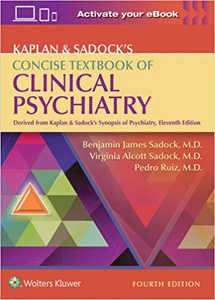 Kaplan & Sadock's Concise Textbook of Clinical Psychiatry-4판(2017.01)