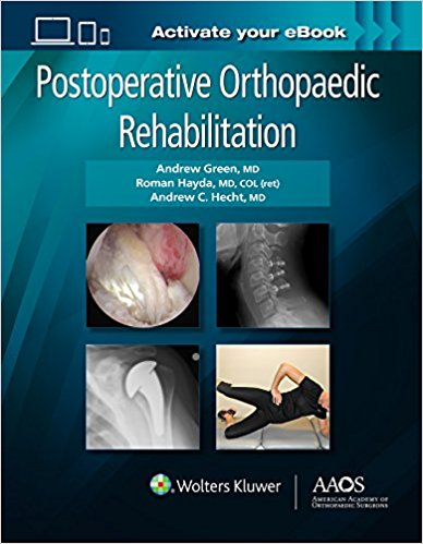 Postoperative Orthopaedic Rehabilitation-1판