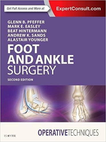 Operative Techniques : Foot and Ankle Surgery, 2e