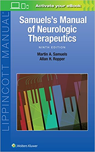 Samuel`s Manual of Neurologic Therapeutics-9판