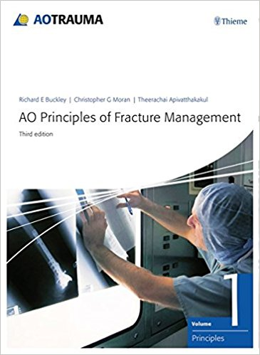 AO Principles of Fracture Management: Vol. 1: Principles, Vol. 2: Specific fractures-3판
