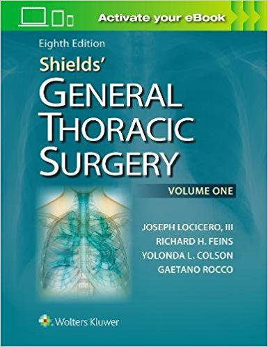 Shields' General Thoracic Surgery-8판