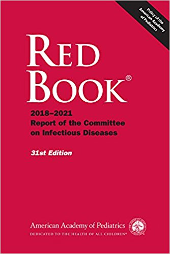Red Book 2018-2021: Report of the Committee on Infectious Diseases-31판(2018.06)