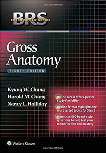 BRS Gross Anatomy - 8판
