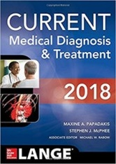 CURRENT Medical Diagnosis and Treatment 2018,-57판
