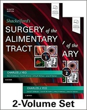 Shackelford's Surgery of the Alimentary Tract-8판, 2Vols