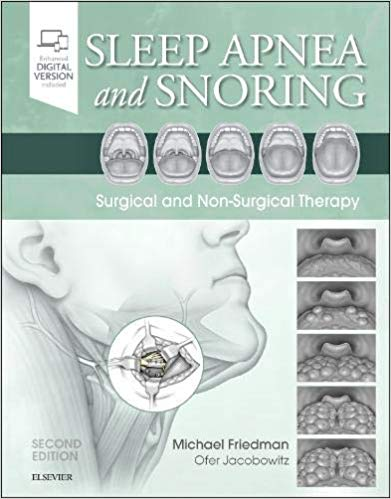 Sleep Apnea and Snoring-2판