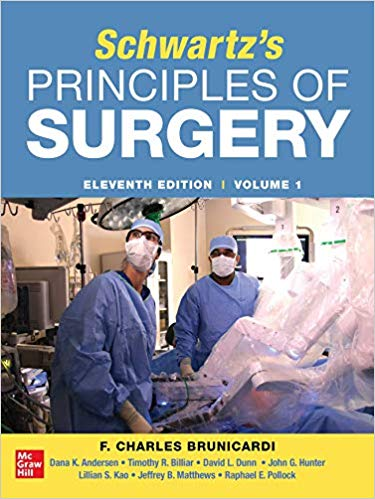 SCHWARTZ'S PRINCIPLES OF SURGERY, 2vols-11판(IE)