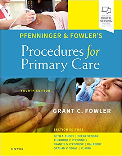 Pfenninger and Fowler`s Procedures for Primary Care-4판