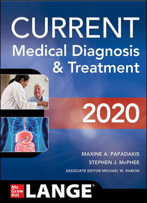 CURRENT Medical Diagnosis and Treatment 2020-59판