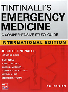 Tintinalli's Emergency Medicine: A Comprehensive Study Guide(IE)-9판