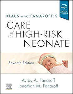 Klaus and Fanaroff's Care of the High-Risk Neonate-7판