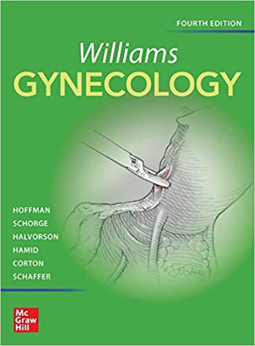 Williams Gynecology-4판