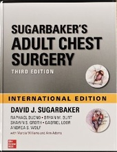 Sugarbaker's Adult Chest Surgery-3판