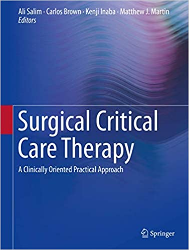 Surgical Critical Care Therapy-1판