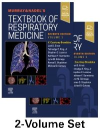 Murray & Nadel's Textbook of Respiratory Medicine(2 Vol set)-7판
