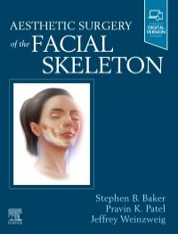 Aesthetic Surgery of the Facial Skeleton-1판