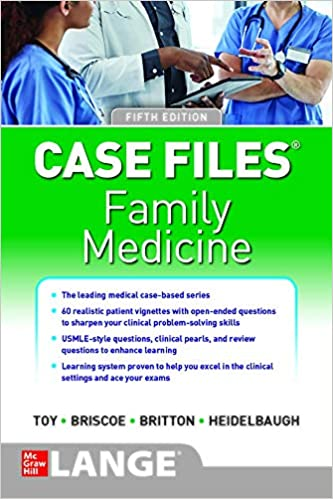 Case Files Family Medicine-5판