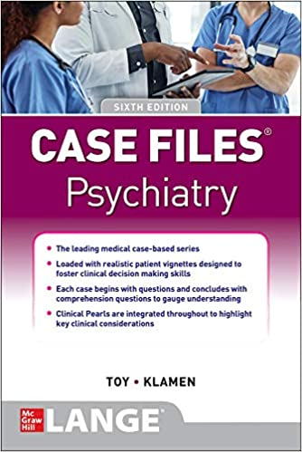Case Files Psychiatry-6판