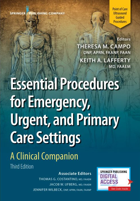 Essential Procedures for Emergency, Urgent, and Primary Care Settings: A Clinical Companion-3판