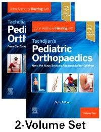 Tachdjian's Pediatric Orthopaedics-6판
