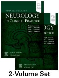 Bradley and Daroff's Neurology in Clinical Practice-8판, 2Vols