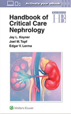 Handbook of Critical Care Nephrology